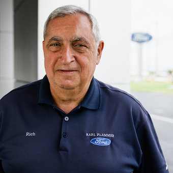 Sales Team Member Rich Farah in Sales at Karl Flammer Ford