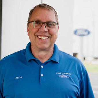 Sales Team Member Mack Gange in Sales at Karl Flammer Ford