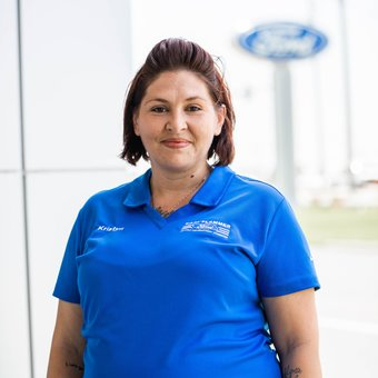 Body Shop Clerical Assistant Kristyn Heller in Body Shop at Karl Flammer Ford