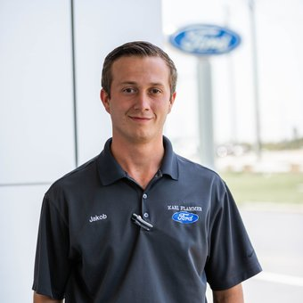 Sales Team Member Jakob Stocky in Sales at Karl Flammer Ford