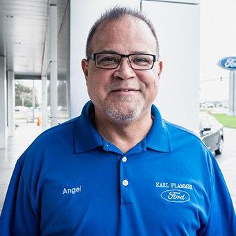 Sales Team Member Angel Garcia in Sales at Karl Flammer Ford