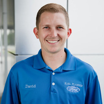 Commercial Account Manager David Kaiser in Sales at Karl Flammer Ford