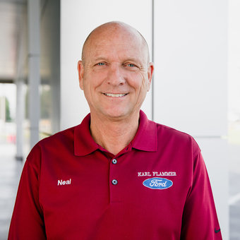 Commercial Account Manager Neal Kaiser in Sales at Karl Flammer Ford