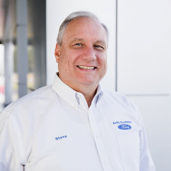 Director of Finance Steve Iacuone in Sales at Karl Flammer Ford