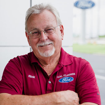 Commercial Account Manager Rick Tipton in Sales at Karl Flammer Ford