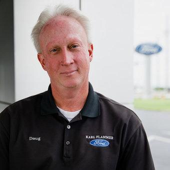 Sales Team Member Doug Gerhardt in Sales at Karl Flammer Ford