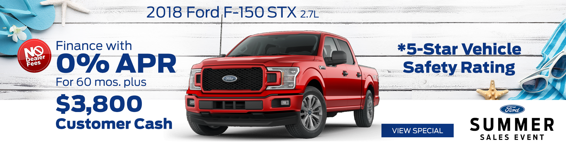 July 2018 Ford F-150 Special