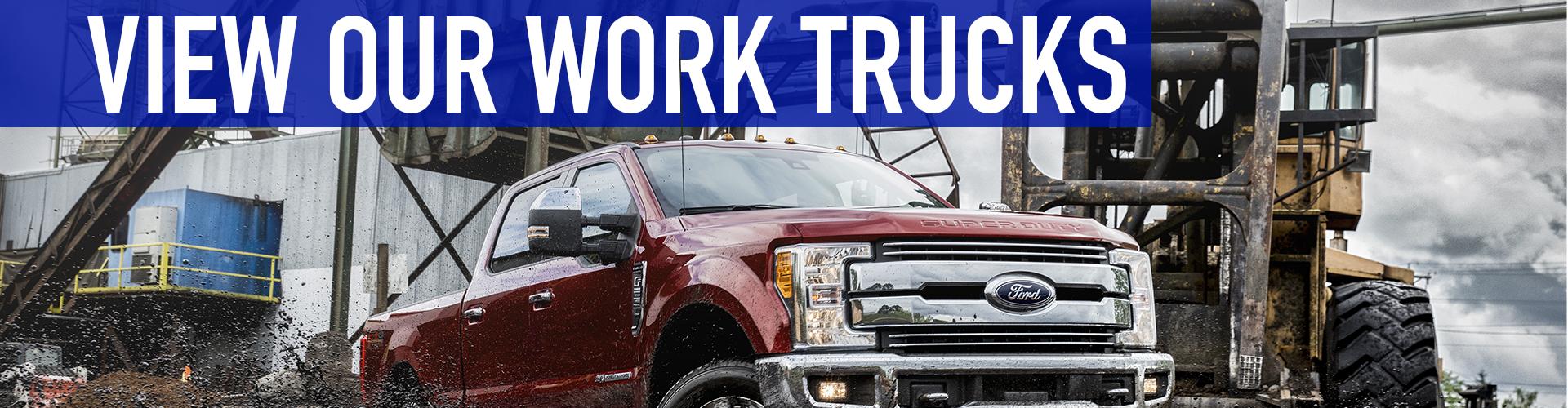ford work trucks