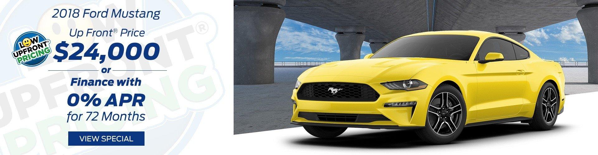 September 2018 Mustang Special