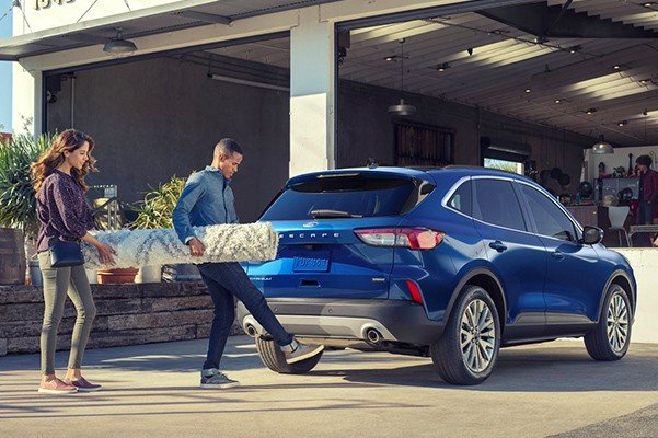 2020 Ford Escape tailgate