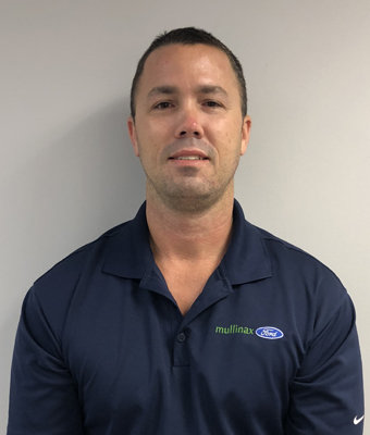 Service Advisor Travis Nuckols in Service at Mullinax Ford West Palm