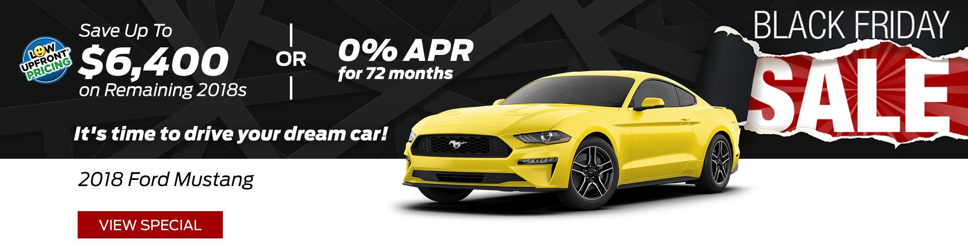 November 2018 Mustang Special