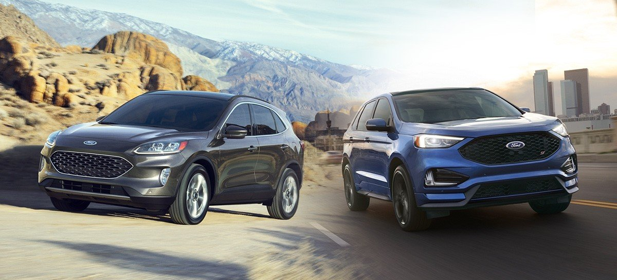 Ford Edge and Ford Escape