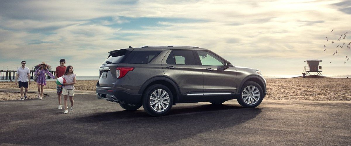 2020 ford explorer footer