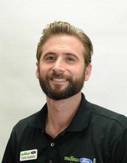 Internet Sales Consultant Derek Montalvo in Sales at Mullinax Ford