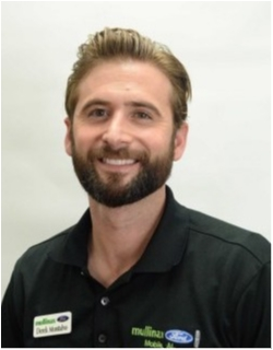 Internet Sales Consultant Derek Montalvo in Sales at Mullinax Ford