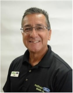 Finance Manager Doc Ornelas in Finance at Mullinax Ford