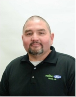 Finance Manager Mike Rhodes in Finance at Mullinax Ford