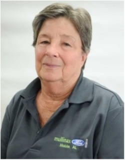 Warranty Administrator Patty  Sweeney in Service at Mullinax Ford