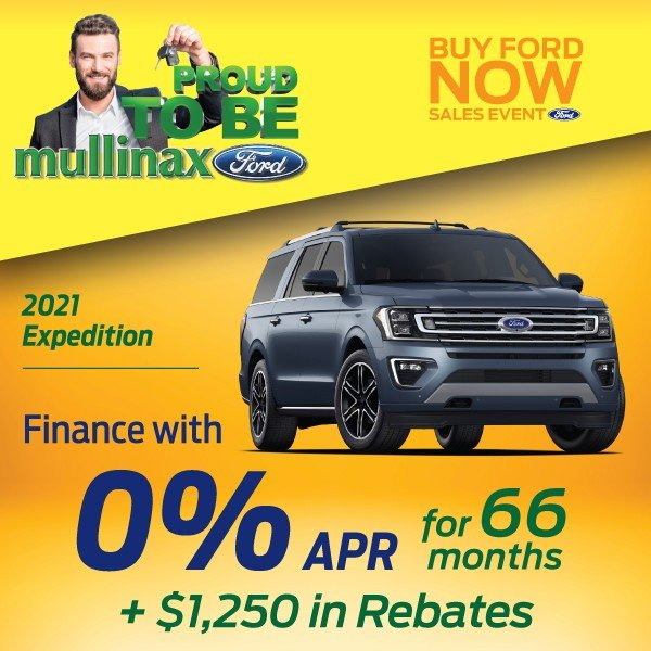 Special offer on 2021 Ford Expedition 2021 Expedition