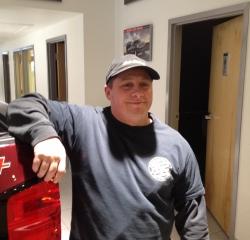 Recon Man! Bobby Nichols in Body at Kightlinger Motors