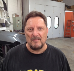 Body Shop Technician Frank Granata  in Body at Kightlinger Motors