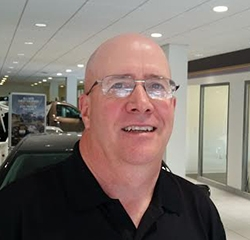Business & Finance Manager Scot Miller in Finance at Kightlinger Motors