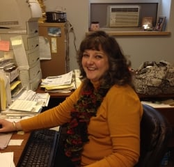 Office & Business Manager Tina Rees in Sales at Kightlinger Motors