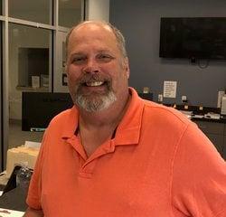 Service Advisor Dave Pieczynski in Service at Kightlinger Motors