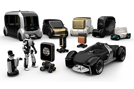 Toyota CES 2020 future technologies.