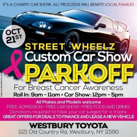 2018 Westbury Toyota Street Wheelz Custom Car Show information.