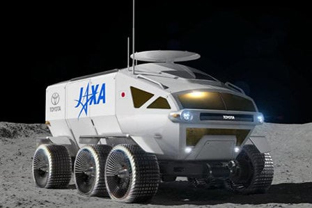 Example model of potential toyota JAXA lunar craft.