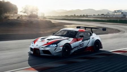 Image of new Toyota Supra concept supercar.