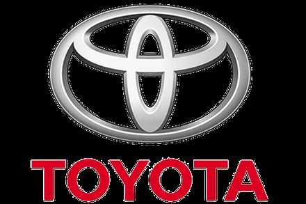 Toyota brand logo.