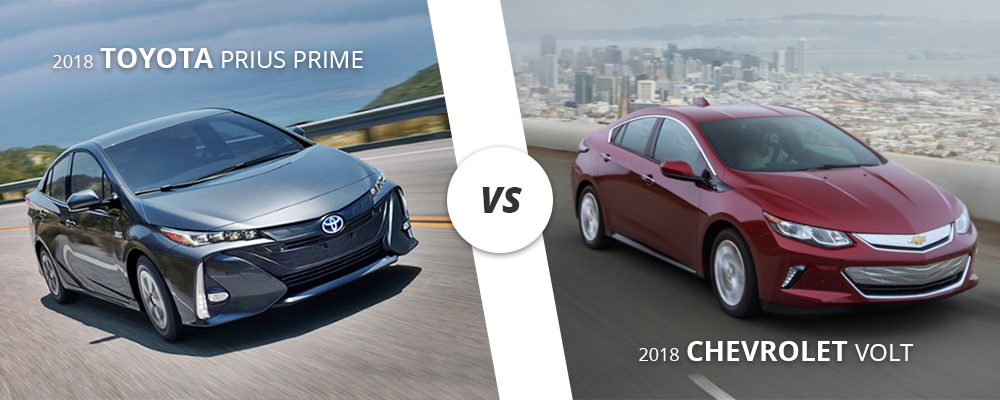 2018 Toyota Prius Prime Vs Chevy Volt Which One Is Right For Me