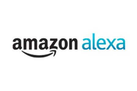 Amazon Alexa logo.