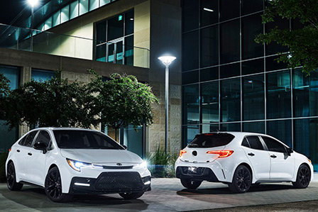 2020 Toyota Corolla Nightshade editions on Long Island, NY.