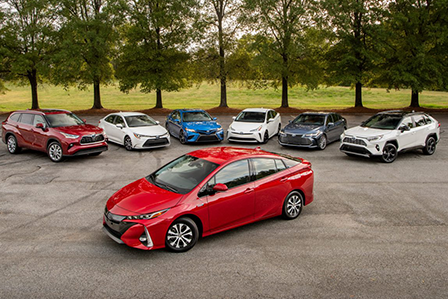 Toyota vehicles that have access to the brand's new battery warranty extension here on Long Island, NY.