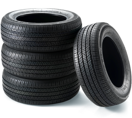 Coupon for Buy 3 Tires and Get the 4th for $1 With the purchase of a 4 wheel alignment