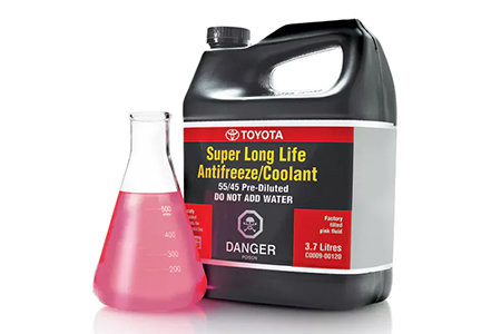 Coupon for Geniune Toyota 50/50 Super Long Life Coolant $19.95