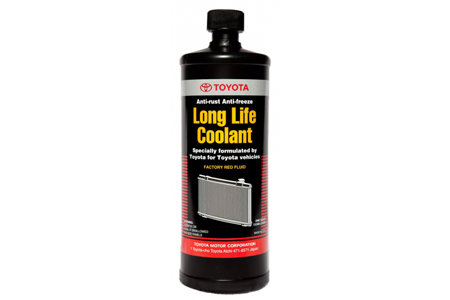 Coupon for Genuine Toyota Long Life Coolant (Red) $24.95