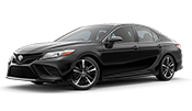 brand new black toyota camry for sale