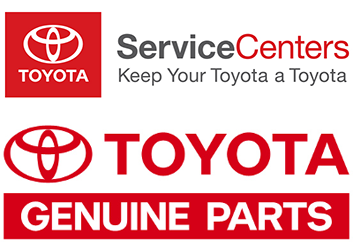 Toyota Service Center and Toyota Genuine Parts