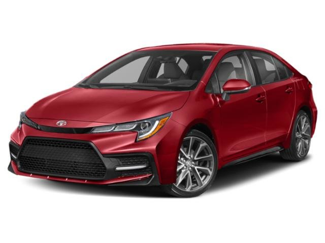 Lease this 2020, Red, Toyota, Corolla, SE