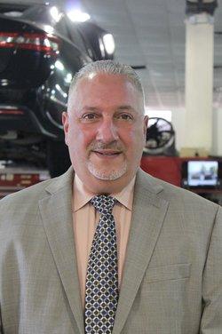 Service Manager Charlie Vassallo in Service Team at Westbury Toyota
