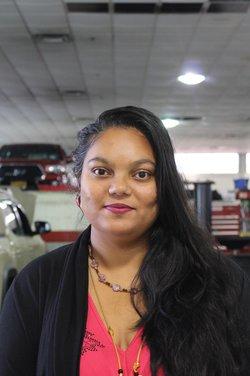 Customer Service Representative Manjula Chinthirla in Service Team at Westbury Toyota