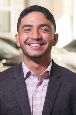 Sales Consultant Diego Mosalve in Sales at Westbury Toyota