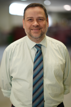 Parts Manager Harry Melendez in Management at Westbury Toyota