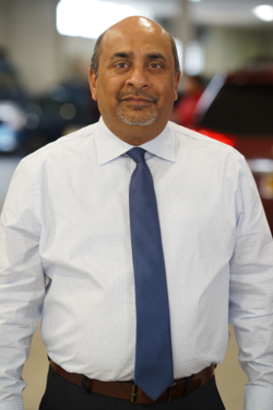 Service Manager Sunjit Joshi in Management at Westbury Toyota