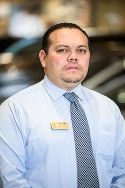 Sales Consultant Carlos Umana in Sales at Westbury Toyota